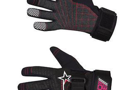 Jobe Progress Gloves Kevlar black/red Gloves Wakeboard Jet ski Kite j15