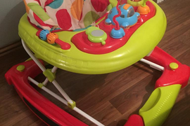 Red kite baby walker and rocker in 1