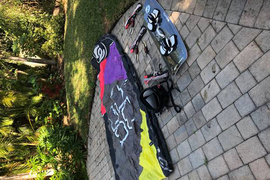 Full KiteBoard Set Up