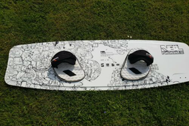 Nobile NBL kiteboard 142 X 42 Tiprocker Profilers.  Complete Anti vibration.