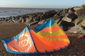F One Bandit 10m kite. 2016