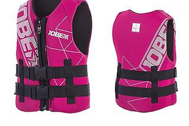 Jobe Neo Vest Pink Vest Children's surf kite Lifejacket Water Ski Jetski J17