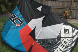 Ozone V3 (think it is a 2015) bought kite new. Has  ...