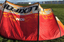 Flexifoil Ion4 10.5m Kite In Red And White