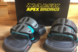 NEW Naish Apex 2018 footpads, straps, & bolts. size standar Works on all brands