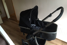 Red kite switch travel system pram