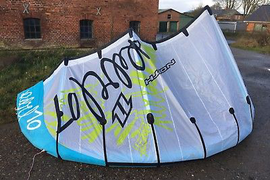 North Rebel Kite 10qm komplett mit Bar und Bag Kitesurfen Komplettset