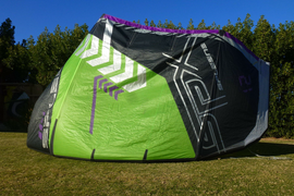 2017 SPLEENE SPX3  12m kite only and bag like core GTS freeride/freestyle kite