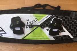 North Kitesurfing Kiteboarding XRide Board And Bag 135cm