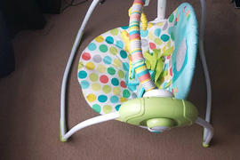 Baby Swing and red kite sit me up - great condition