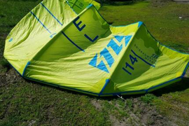 14 m North Rebel 2016 Kite mit Bar Trust 5th Element