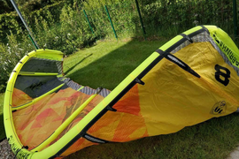 Cabrinha Switchblade 8 m2 Kite With Recoil Bar