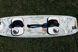 RRD Pro Model 2 kitesurfing board, Twin Flex 125 x 37,with bag, good condition.