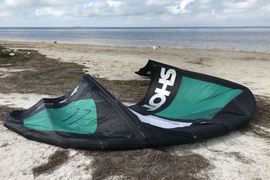 No repairs. Amazing kite for light wind or for big  ...
