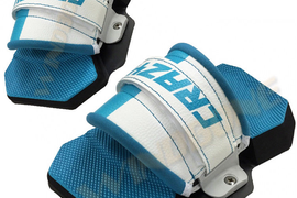 CrazyFly Allround Pads & Strap Set Pair for Kiteboard Kiteboarding (2016-2018)