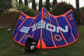 Kite and bag only, brand new, used once. Selling b  ...