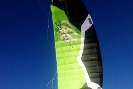 2012 Ozone 9mtr Frenzy Foil kite with Bar and Backpack - Ideal for Snowboarding