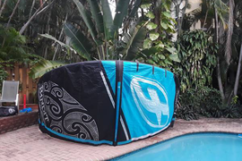 2013 F-One Bandit 6 Kite - 12 m - with Bar + Lines and bag - Kitesurf