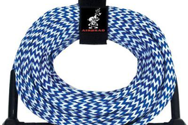 AIRHEAD AHSR-75 Water Ski Rope 1 Section (75-Feet), New