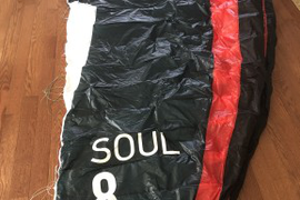 Soul 8.0 complete used this winter snowkiting only  ...