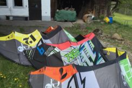 North Kite 12qm Kite 9qm Kite 7qm  North Rebel 1290 Euro !