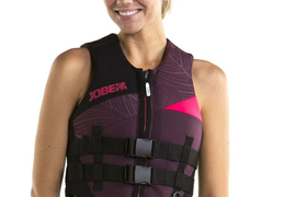 Jobe Neo Vest Women's Burgundy New Women's Vest Surf Kite Water Ski Jetski J19