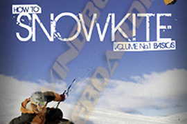 Learn How To SnowKite DVD Instructional Snowkiting Vol 1 Kiteboarding Snowboad
