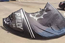 Slingshot Rally 14m Kiteboarding Kite with Bar Ready to Ride NOW..no issues