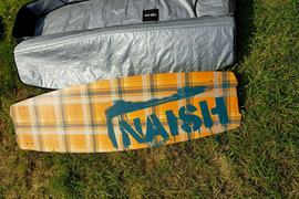 Naish kite surfing board and bag
