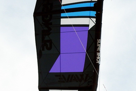 Slingshot Wave SST 6 M kite 2017; used once, purchased new in September 2018