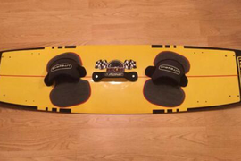 Caution Redline 142 x 38 Kiteboard Kite Board Pads & Bindings New Unused