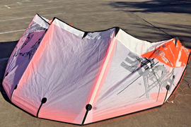 North Fuse 7m Kite with bag...holds air and looks great in the air...ready now