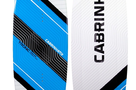 NEW 2017 CABRINHA Tronic Kiteboard 137CM -  w/fins, footpads, handle, & hardware