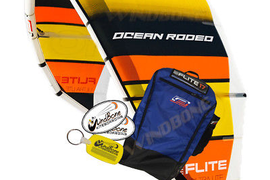 New Gen 5 Ocean Rodeo Flite 17M Kiteboarding Kitesurfing Light Wind Kite Only V5
