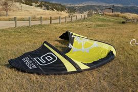 2013 Slingshot Rally 9M kite w/ Bar and Lines