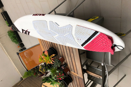 Naish Global Kite Surfboard Used, Size: 6'2″ – W 18 3/4″ – T 2 1/4″