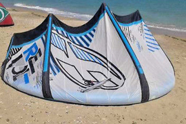F-One Revolt 11m 2011 kitesurfing kite complete,bar,lines and bag