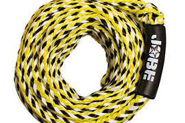 Jobe Tow Rope for towable 6-Person Waterskiing Ropes Handles, New