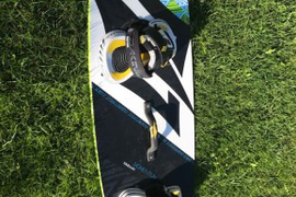 2014 Naish Momentum 132 x 41 is great condition, s  ...