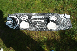 RRD Kiteboard Poisen 135x43 Limited Edition gebraucht