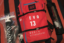 2017 North Evo Kite 13 (Combo Package)