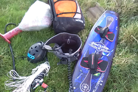 Kite surfing board equipment, £500 ono job lot