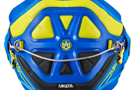 F-One Manera 2016 Exo Technical Kite Harness Blue/Yellow *XL*