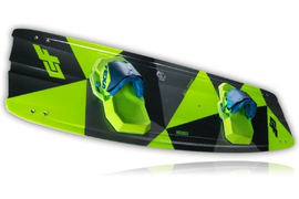 2018 CrazyFly Bulldozer Kiteboard Complete w/Bindings, Fins, and All Hardware