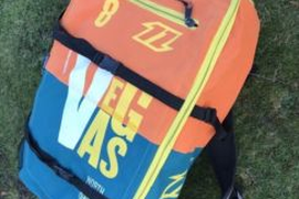 North VEGAS 8qm freestyle kite 2014 nkb kiteboarding