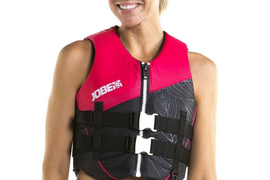 Jobe Nylon Vest Women's Hot Pink New Women's Vest Surf Kite Water Ski Jetski J19