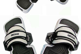 CONCEPT X PRO FUSION PRO Kitestrap-Pad Kiteboard Pads Set One size Gr.36-47