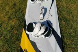 Kiteboard Core Fusion 2 LW in 147 x 44 cm - sehr guter Zustand !