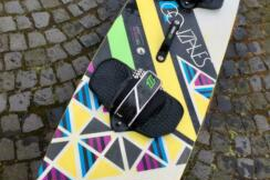 North Gonzalez Kiteboard 143/40.5 komplett - Top Zustand