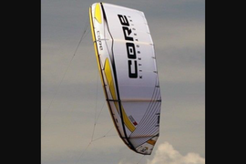Quiver of Core XR3 kites. Sizes 6,8,10,12. All kit  ...